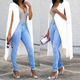 The Cheapest Women Loose Long Cloak Blazer Coat Cape Cardigan Jacket Trench Outwear Whl Intl Online