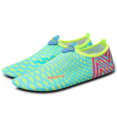 Get Cheap Women Multi Purpose Sports Shoes Fitness Yoga Swimming Shoes Color Blue Intl