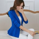 Wholesale Women New Spring Long Sleeve Blazers Suit Female Slim Coat Single Breasted Intl