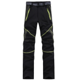 Brand New Women Outdoor Breathable Quick Dry Pants Thin Lightweight Trousers(Black)