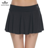 Best Rated Women S Tennis Skirts With Prevent Exposed Shorts Hf02 Black Intl