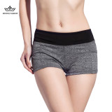 Cheapest Women S Workout Runnings Yoga Pants Sport Shorts Grey Black Fy 1501 Online