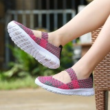 Wholesale Women Sandals 2017 Summer New Candy Color Women Shoes Peep Toe Stappy Beach Valentine Rainbow Croc Jelly Shoes Woman Flats Intl