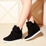 Where To Shop For Women Shoes Autumn Winter Hidden Heel Flock Fashion Wedge Casual Shoes Intl