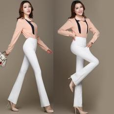Buy Women Slim Flared Pants Bootleg Jeans Bell Bottoms Boot Cut Trousers High Waist Skinny Pants Intl Online China