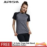 Who Sells The Cheapest Women Sport Short Sleeve T Shirt Breathable Quick Dry Yoga Shirt Gym Fitness Running High Stretch Top Tee Intl Online