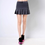 How To Get Women Sports Skirts And Shorts Professional Tennis And Badminton Skorts Hot Running And Fitness Skirts Grey Intl