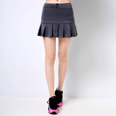 Buy Women Sports Skirts And Shorts Professional Tennis And Badminton Skorts Hot Running And Fitness Skirts Grey Intl China