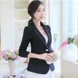 Women Spring Summer Ol Blazers Suit Coats Slim Office Causal Female Outwear Intl Cheap