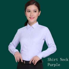 Low Cost Women Spring Summer Ol Shirts Business Female Office Ladies Tops Formal Suit Shirt Intl