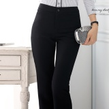 Shop For Women Suit Pant Ol Office Ladies Black Formal Business Trousers Intl