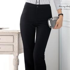 Coupon Women Suit Pant Ol Office Ladies Black Formal Business Trousers Intl