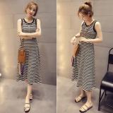 Sale Women Summer Sleeveless Stripe Dress Intl Oem Branded
