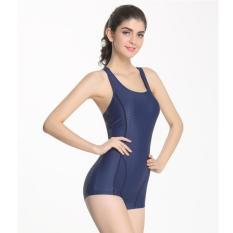 Sale Women Swimming Cloth Athletic Swimsuit Blue Intl China Cheap