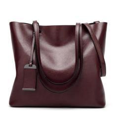 Women Top Handle Satchel Handbags Tote Purse Shoulder Bag(Coffee)