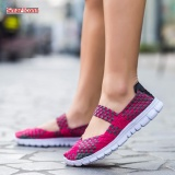 Price Comparisons Women Weave Sports Running Shoes Summer Female Sneakers Shoes For Women Trainers Walking Shoes Intl