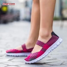 Discount Women Weave Sports Running Shoes Summer Female Sneakers Shoes For Women Trainers Walking Shoes Intl Oem China