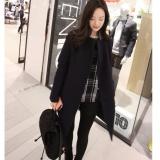 Recent Women Winter Warm Wool Lapel Trench Parka Coat Jacket Long Slim Overcoat Outwear Intl