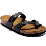 Discounted Women S Authentic Birkenstock Mayari Birko Flor Flat Sandals Size 35 41 Black Intl