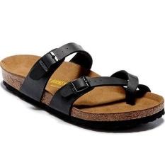 Sale Women S Authentic Birkenstock Mayari Birko Flor Flat Sandals Size 35 41 Black Intl Birkenstock Online