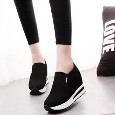 Review Women S Autumn Hidden Heel Shoes Slip On Shoes Casual Travel Shoes Bk 35 Intl Oem