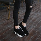 Women S Fashion Autumn Wild Hidden Heel Shoes Slip On Shoes Casual Shoes Bk 35 Intl Best Price