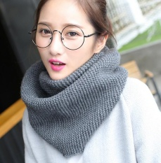 Womens Soft Thick Knitted Scarf Winter Warm Wrap Circle Loop Infinity Scarves - Intl By Ying Jin.