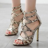 Price Women S Stiletto High Heels Elegant Party Sandals Intl On China