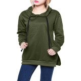 Womens Cotton Hoodies Fashion Loose Pullover Intl Free Shipping