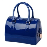 Cheap Women S Doctor Style Pillow Shaped Handle Bag Candy Satchel Handbag Dark Blue Intl Intl