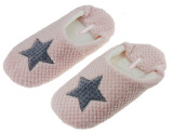 Buy Womens Girls Autumn Winter Sweet Super Soft Cozy Home House Office Floor Slipper Sandals Mules Lightweight No Slip Rubber Sole Pregnant Woman Scuff Slip On Slippers Pink Star Oem