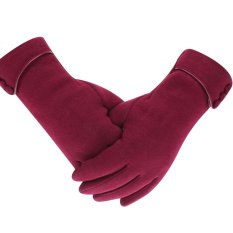 Womens Lady Winter Warm Gloves Touch Screen Phone Windproof Lined Thick Gloves - Intl By Miss Lan.