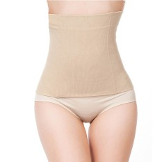 93f032400 Womens No Closure Waist Trainer Corset Cincher Boned Seamless Tummy Control  Belt Shapewear Slimmimg Workout Body