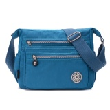 Price Compare Women S Shoulder Bag Casual Bag Multi Function Application Nylon Material Street Style Cross Bag Classic Lady Bag Blue Intl