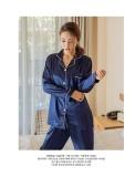 Womens Silk Satin Pajamas Pyjamas Set Sleepwear Loungewear Intl China