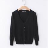 Brand New Women S Thin Sweater Cardigan Short Black Intl