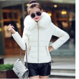 Best Offer Womens Winter Jackets And Coats 2016 Women S Parkas Thick Warm Faux Fur Collar Hooded Anorak Ladies Jacket Female Manteau Femme Intl