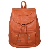 Buy Wond New Women S Backpack Travel Pu Leather Handbag Rucksack Shoulder Sch**L Bag Brown Intl China