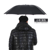 Compare Prices For Ms Large Three Business Reinforcement Double Folding Umbrella Small Black