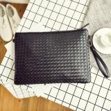 Korean New Men Clutch Bag Woven Clutch Black Large 906 Black Large 906 For Sale Online