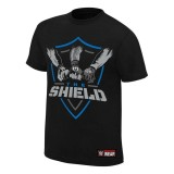 Where To Shop For Wwe The Shield Shield United Authentic T Shirt Black Intl
