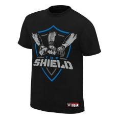 Sale Wwe The Shield Shield United Authentic T Shirt Black Intl Oem On China