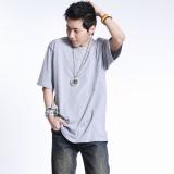 Discount Loose Fit Hip Short Sleeve T Shirt Gray Gray China