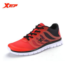 Purchase Xtep Brand Light Running Shoes Men Sneakers Athletic Sports Shoes Breathable Mesh Outdoor Chusion Trainers Shoes Red Intl Online