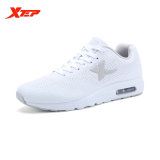 Xtep Brand Professional Running Shoes For Men Athletic Sneakers Light Leather Running Man Sport Trainning Run Shoes White On Line