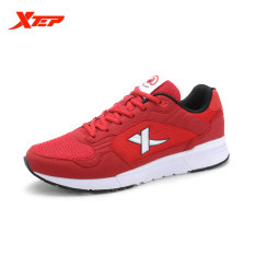 Review Xtep Brand Running Shoes For Men Sports Shoes Mesh Men S Sneakers Trainer Outdoor Athletic Shoes Zapatos De Hombre Red Xtep