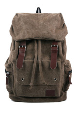 Retail Yazilind Leather Backpack Brown