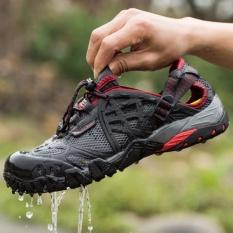 Cheapest Yealon 2017 Men Outdoor Sneakers Breathable Hiking Shoes Men Women Outdoor Hiking Sandals Men Trekking Trail Water Sandals Waterproof Intl Online
