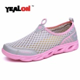 Buy Yealon Aqua Shoes Men Aqua Shoes Women Summer Beach Shoes Water Shoes For Men Sports Sneakers Hiking Sandals Breathable Shoes Waterproof Intl Yealon Original