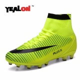 Buy Yealon High Ankle Football Boots New Fg Soccer Shoes Superfly Men Sock Boot Football Zapatos De Futbol Con Tobilleras Size39 46 Intl